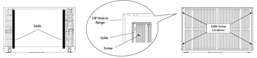 how do i install my through the wall air conditioner edgestar rh support edgestar com