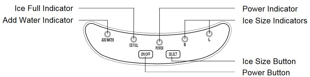 How can I adjust the ice size on my EdgeStar or Koldfront portable Edgestar Ice Maker Wiring Diagram on ice maker help, ice maker troubleshooting, ice maker for frigidaire refrigerator, kenmore refrigerator ice maker diagram, ice maker plug diagram, kenmore refrigerator schematic diagram, ice maker electrical, ice maker capacitor, ice maker hose, ice maker lights, whirlpool refrigerator schematic diagram, ge refrigerator schematic diagram, ice maker specifications, sub-zero ice maker diagram, ice maker wiring harness, ice maker motor, ice maker cover, ice maker solenoid, ge ice maker diagram, ice maker screw,